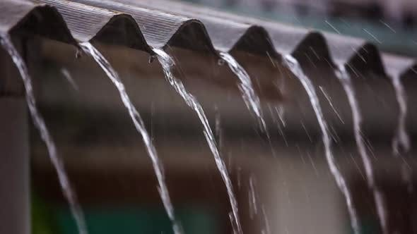 Thumbnail for Water Drains from the Roof Shower