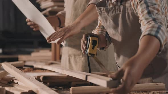 Thumbnail for Doing Measurements While Woodworking