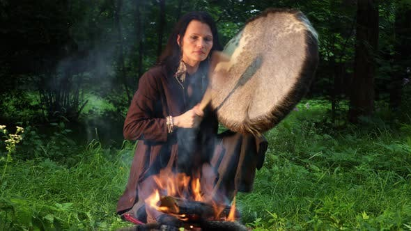 Shamanic Ritual in The Forest