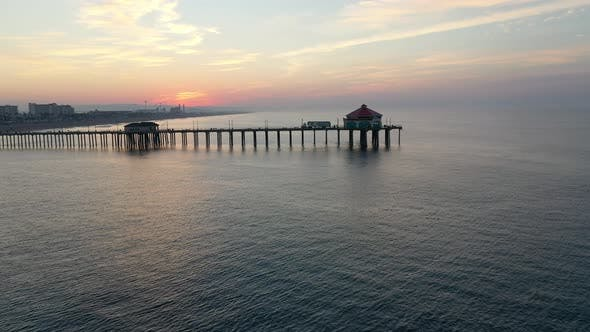 Thumbnail for Circling The Pier At Sunrise