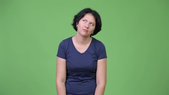 Thumbnail for Frustrated Woman Looking Bored