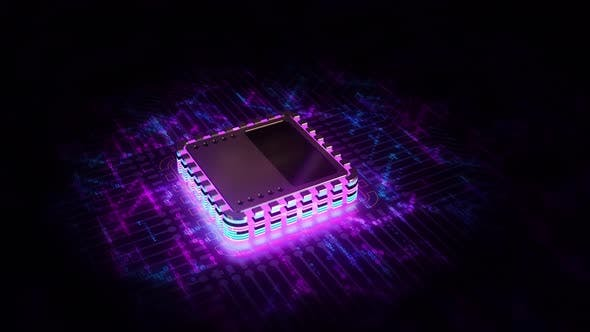 Thumbnail for New CPU on Electronic Board