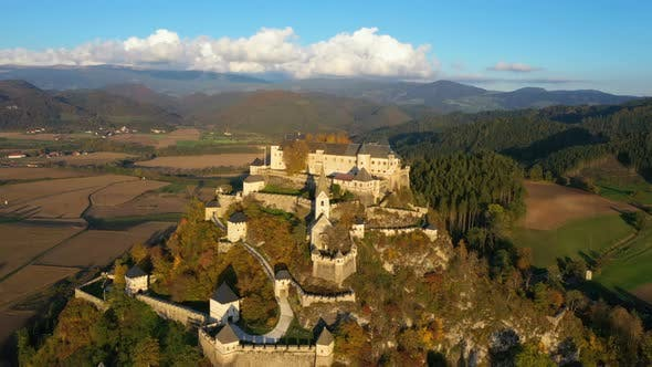 Thumbnail for Aerial View Of Wellknown Medieval Castle Hochosterwitz