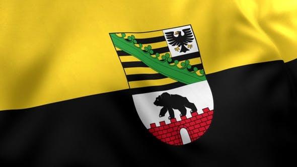 Thumbnail for Saxony-Anhalt Flag with Emblem