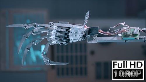 Cyborg Hand 1080p