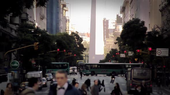 Thumbnail for Buenos Aires downtown, in Argentina.