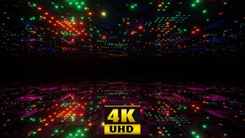 Neon Cyber Flight 4K