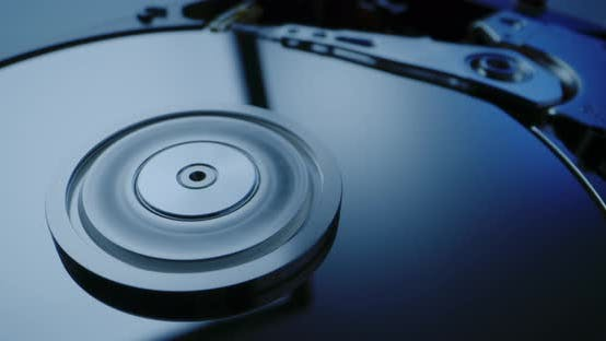 Thumbnail for Interior of a Hard Disk Drive