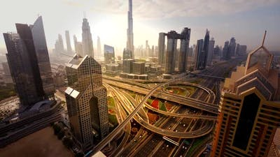 Residential Cityscape of Economy Growth Developing Urban Area
