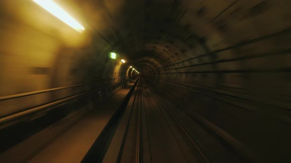 Thumbnail for A First-person View of the Subway Tunnel