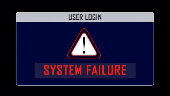 System Failure and User Login Interface