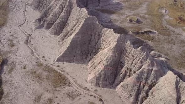 Thumbnail for Badlands Western Region in Spring Erosion Topography Cliffs Geology Hills