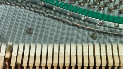 Neat Rows Of Hammers And Strings