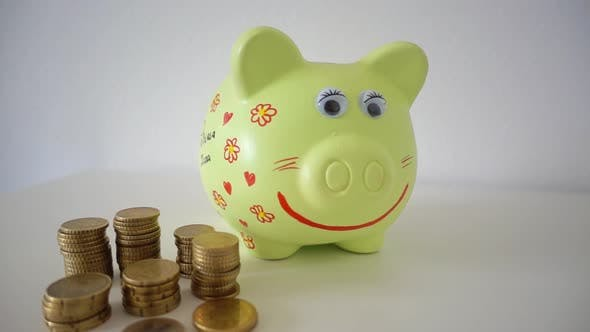 Thumbnail for Coins and Piggy Bank