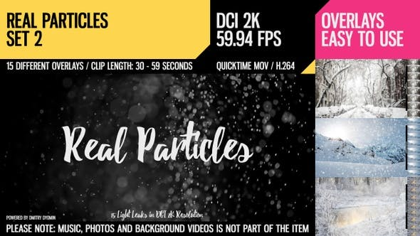 Thumbnail for Real Particles (HD Set 2)