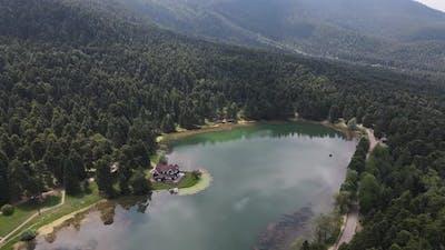 Natural Landscape Aerial View