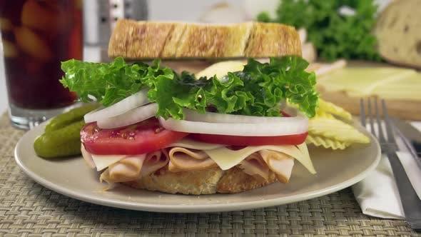 Thumbnail for Vorbereiten einer Sandwich-Zeitlupe