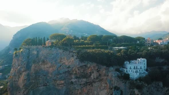 Thumbnail for Ravello Aerial, Villa Cimbrone , Amalfi Coast