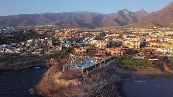 Thumbnail for Aerial View of Playa De Las Americas Tenerife
