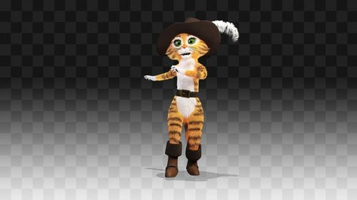 Puss in Boots Salsa Dancing