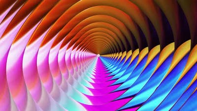 Abstract radial swirling vortex motion background