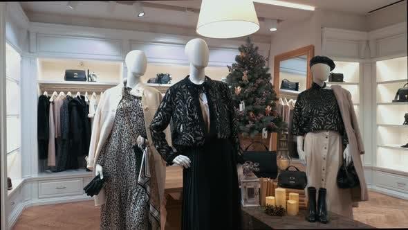 Fashion Store Christmas Showcase 3