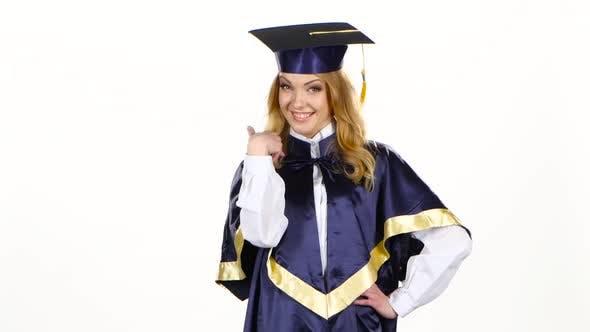 Thumbnail for Graduate High School. White