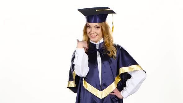 Graduate High School. White