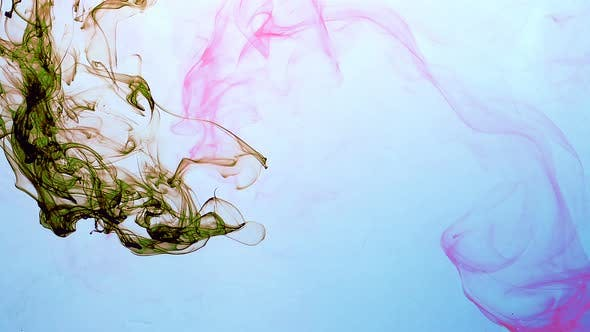 Thumbnail for Abstract Ink Drops In Aquarium Water 10