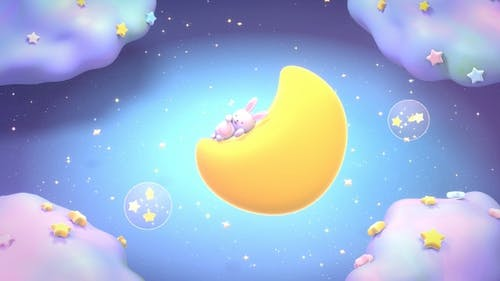 Sleeping Bunny II