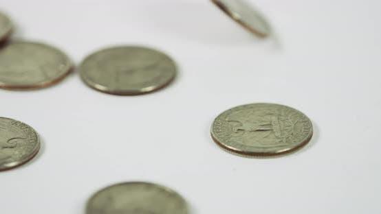 Thumbnail for Quarters Falling