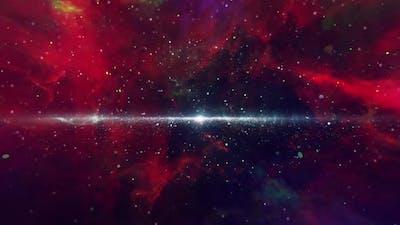Space Nebula Travel Loop
