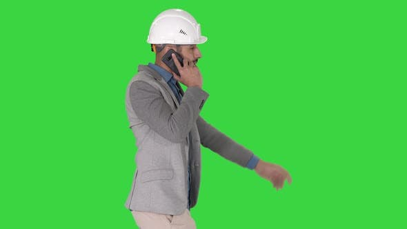 Thumbnail for Architect Engineer Makes a Phone Call Complaining About the Results of Work Pointing To the Objects