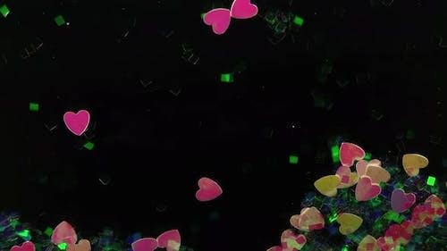 Fancy Ornamental Heart Flowing 2
