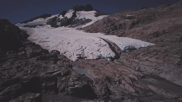 Thumbnail for Scenic glacier footage