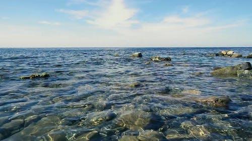 Blue Sky and Clear Blue Sea