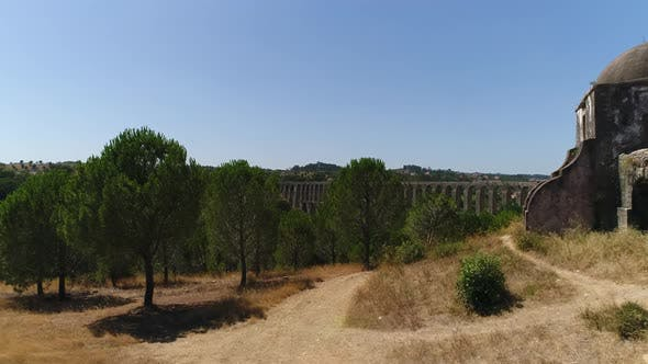 Thumbnail for Walking Near Great Antique Aqueduct