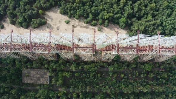 Thumbnail for Top View of Duga, Radar System Near Chernobyl