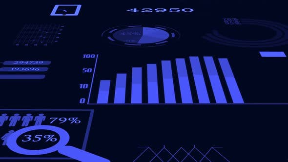 Thumbnail for Finance Corporate Data Numbers Statistic Chart