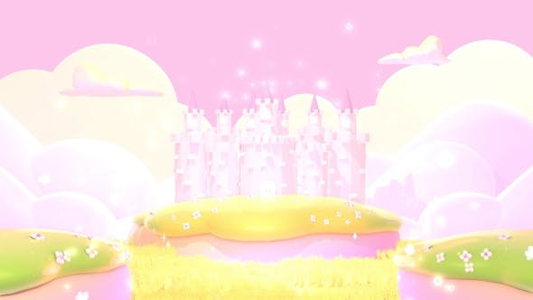 Thumbnail for Cartoon Pink Castle