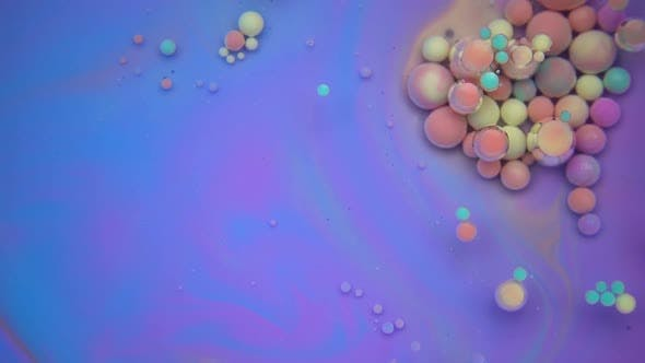 Thumbnail for Magical Paint Bubbles In Oil