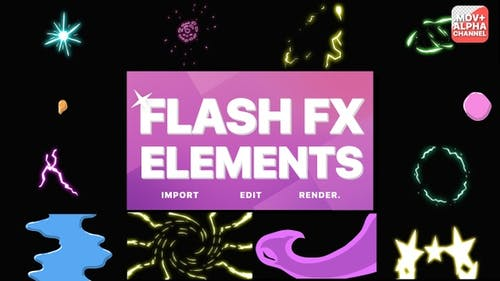 Flash Fx Elements Pack   Motion Graphics