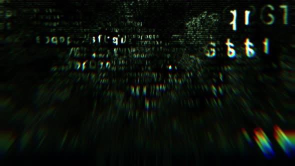 Thumbnail for Green Hexadecimal Code Fragments On Black Background