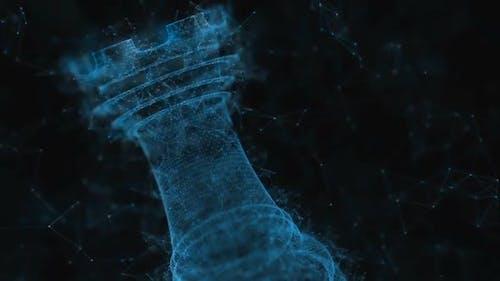 Cinematic 4K Chess Plexus - Rook Shot 2