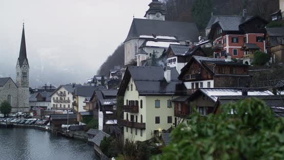 Thumbnail for Foggy day in Hallstatt