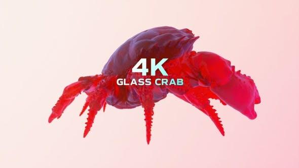 Glas-Krabbe