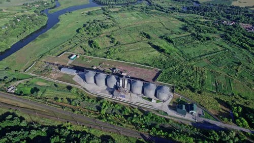 Grain Warehouse Granary