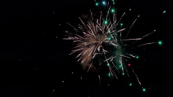 Thumbnail for Fireworks background. Loops seamlessly.
