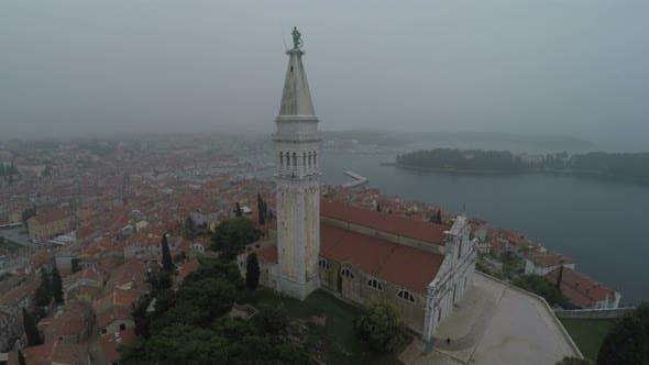 Thumbnail for St. Euphemia basilica aerial view