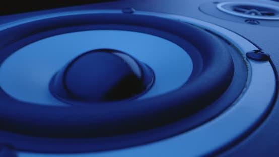 Thumbnail for Macro Shot of Pulsating Speaker